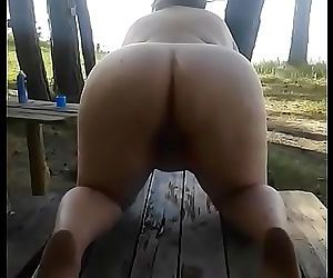 Bbw fat russian mom pissing 25 sec