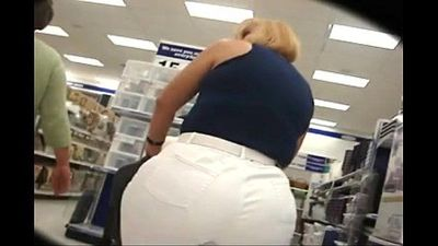 Big fat ass mom shopping - 2 min