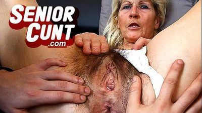 Up close pov old vagina fingering with mature Greta - 6 min