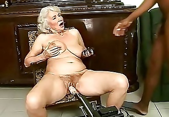 Interracial granny fuck 6 min