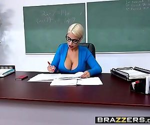 Big Tits at SchoolTeachers Tits Are Distracting scene starring Bridgette B Alex DHD