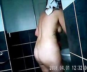 Nude moms spied in bath room by bad sons 2 - 1 min 20 sec