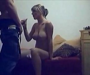 Cheating wife caught on hidden cam - 7 min