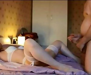 Amteur milf fucked on real homemade
