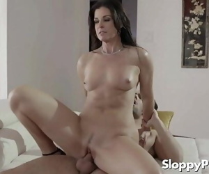Horny mommy India Summer 6 min