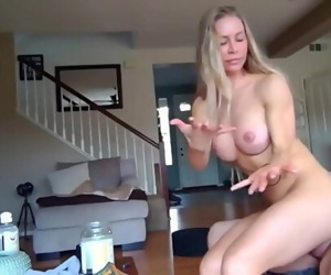 shameless big booty divorced mom with amazing body loves huge creampie with new neighbor 15 min 720p