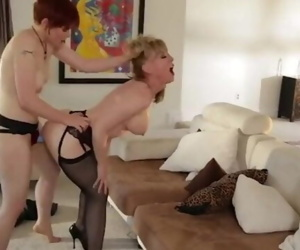 Nina Hartley and Lily Cade