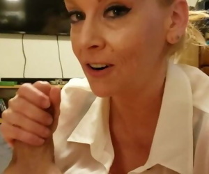 Step Mom Catches Son Jerking Off W/ Her Dirty Socks Gets a CreamPie Taboo