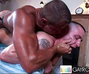Oily Fondling Ass Massage.p9HD