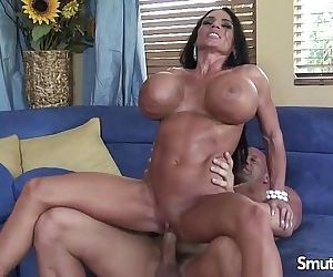 Huge bombed brunette penetratedHD