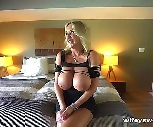 MILF With Big Tits Gets Drilled And Covered With Cum 5 min HD