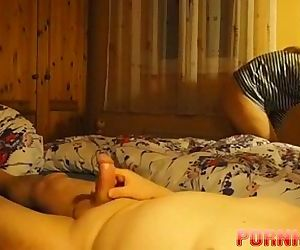 Granny Seduces Dangerous Woman Star - 2 min