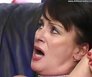 Mature Mom Gets creampie from son - 6 min