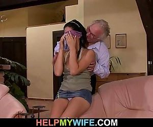 Cuckolding surprise for sexy wife - 6 min