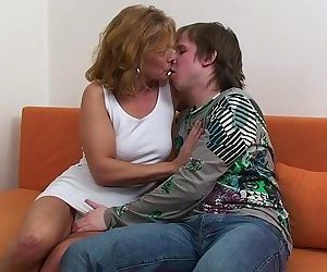 Kokoczech blonde mature and young boy