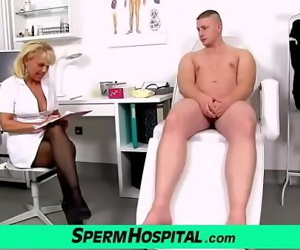 Doctor patient role play with hot lady Koko Margit 6 min