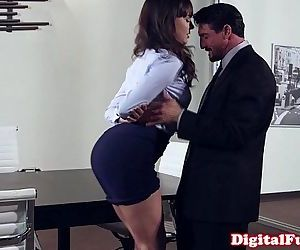 Office milf pounded on top of desk - 10 min HD
